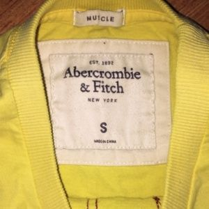 Abercrombie & Fitch Shirts - Abercrombie & Fitch Muscle ShortSleeve Shirt Small